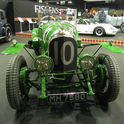 Rétromobile 2012: 14. Bentley