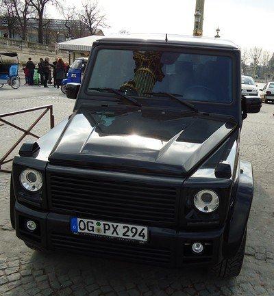 """Mercedes """"G"""" tuné"""