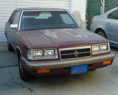 Tour du monde: 5, Los Angeles, Dodge Aries