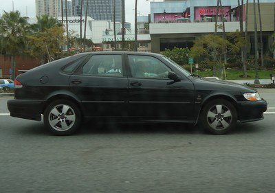 Tour du monde: 8, Los Angeles, Saab 9-3