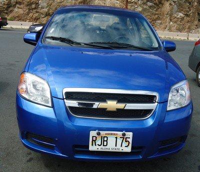 Mini-essai: Chevrolet Aveo LT