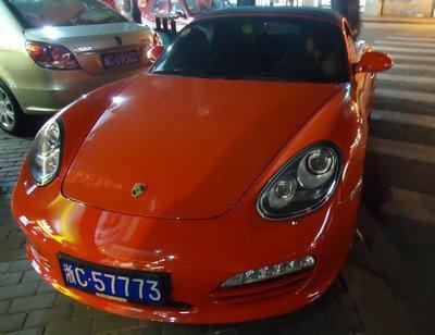 Tour du monde: 20, Wenzhou, Porsche Boxster