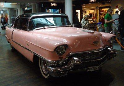 Francfort: pink Cadillac