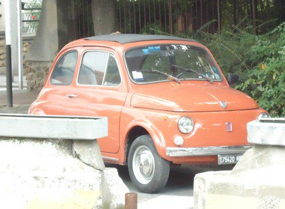 Fiat 500 en vitesse