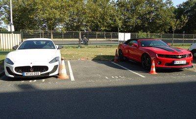 Maserati et Camaro