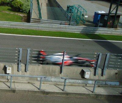 Grand Prix de Belgique: 4. la course