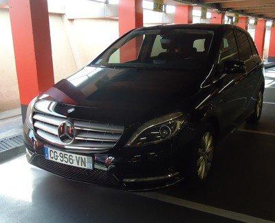 Mercedes Classe B de Hertz, mon vingt-neuvième essai