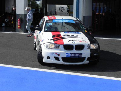 """BMW 120d """"Garage du Bac"""" à Magny-Cours"""