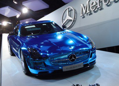 Mondial 2012: 6. Mercedes SLS Electric Drive