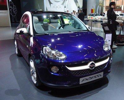 Mondial 2012: 18. Opel Adam