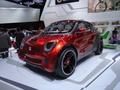 Mondial 2012: 25. Smart Forstars