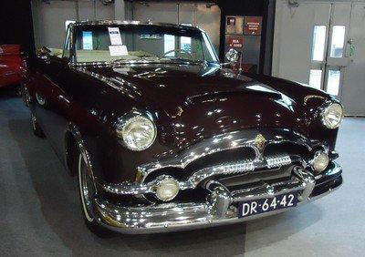 Rétromobile 2013: 2. Packard Caribbean 1953