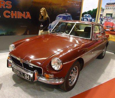 Rétromobile 2013: 26. Classic Cars Challenge China
