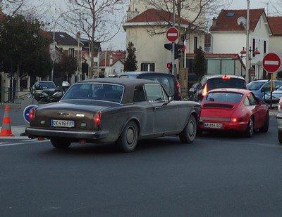 Rolls-Royce, Porsche et Ferrari