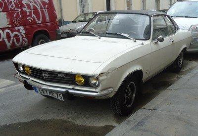 Une Opel Manta