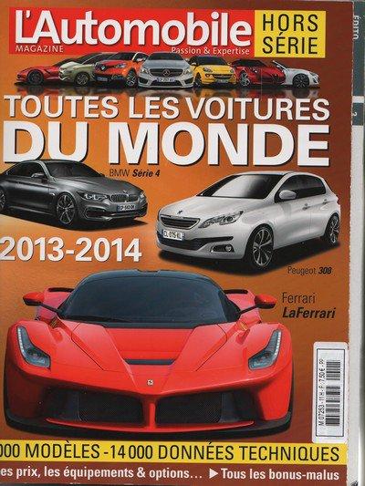 Toutes les voitures du monde 2013-2014