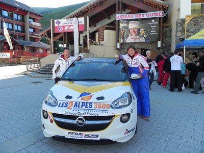 Opel Adam Cup aux 2 Alpes