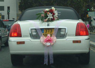 Les voitures du mariage