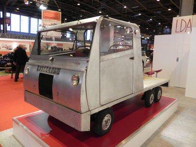 Rétromobile 2014 : 2. Voisin Camionnette 1957