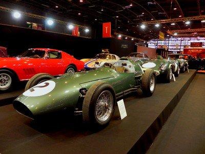 Rétromobile 2014 : 6. trio d'Aston Martin