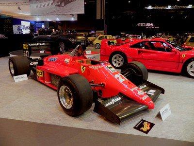 Rétromobile 2014 : 8. Ferrari 156/85