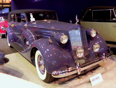 Rétromobile 2014 : 12. Packard Twelve 1937