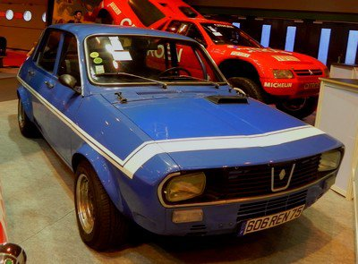 Rétromobile 2014 : 14. Renault 12 Gordini