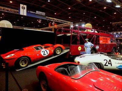Rétromobile 2014 : 24. Un diorama... A l'échelle 1