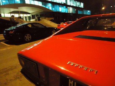Embouteillage de Ferrari