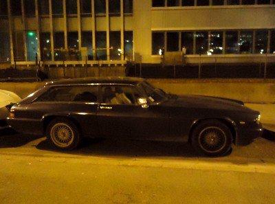 Une Jaguar chez les Ferrari