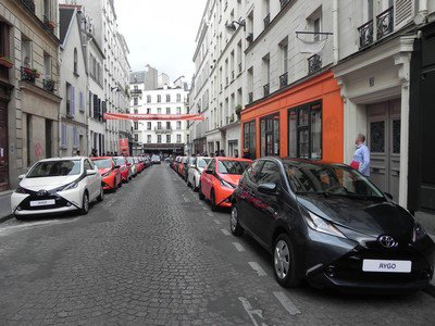 La rue Aygo