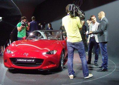Mondial 2014 : 17. Mazda MX-5 et Cyril Drevet, bis repetita