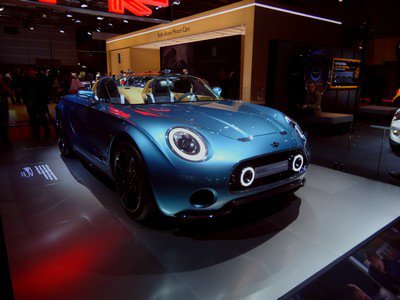 Mondial 2014 : 20. MINI Superleggera