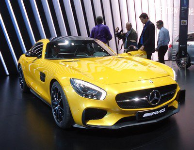 Mondial 2014 : 23. Mercedes-AMG GT