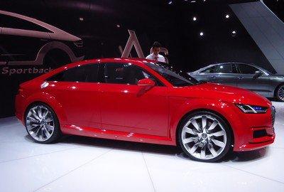 Mondial 2014 : 31. Audi TT Sportback Concept