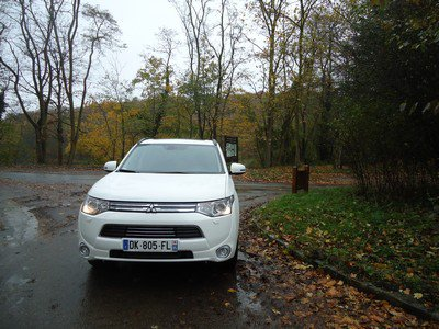 Mini-essai : Mitsubishi Outlander PHEV