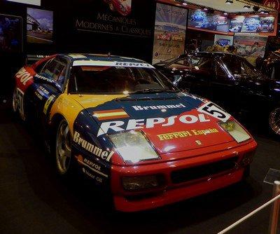 Rétromobile 2015 : 2. Quelques Ferrari...
