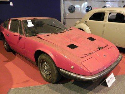 Rétromobile 2015 : 8. Maserati Indy