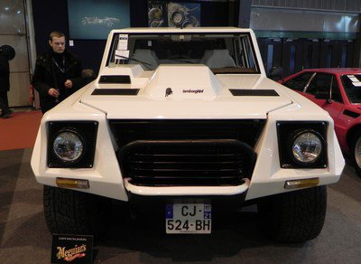 Rétromobile 2015 : 11. quelques Lamborghini