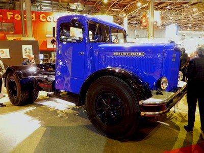 Rétromobile 2015 : 14. Berliet-diesel