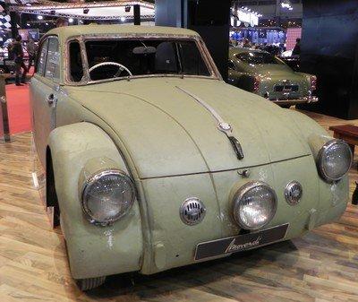 Rétromobile 2015 : 16. Tatra