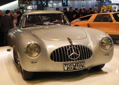 Rétromobile 2015 : 17. Mercedes 300 SLR