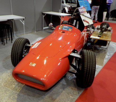Rétromobile 2015 : 19. DB et Alexis Vastine