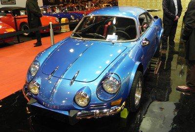 Rétromobile 2015 : 21. Quelques Alpine