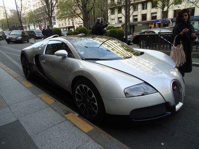 Une Bugatti