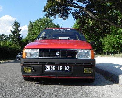 Essai Autobianchi Y10 Turbo Chardonnet