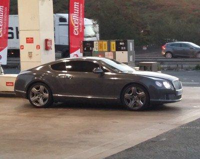 Bentley du lundi