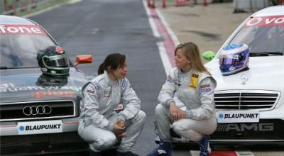 Les femmes en sport Auto: 1, le DTM