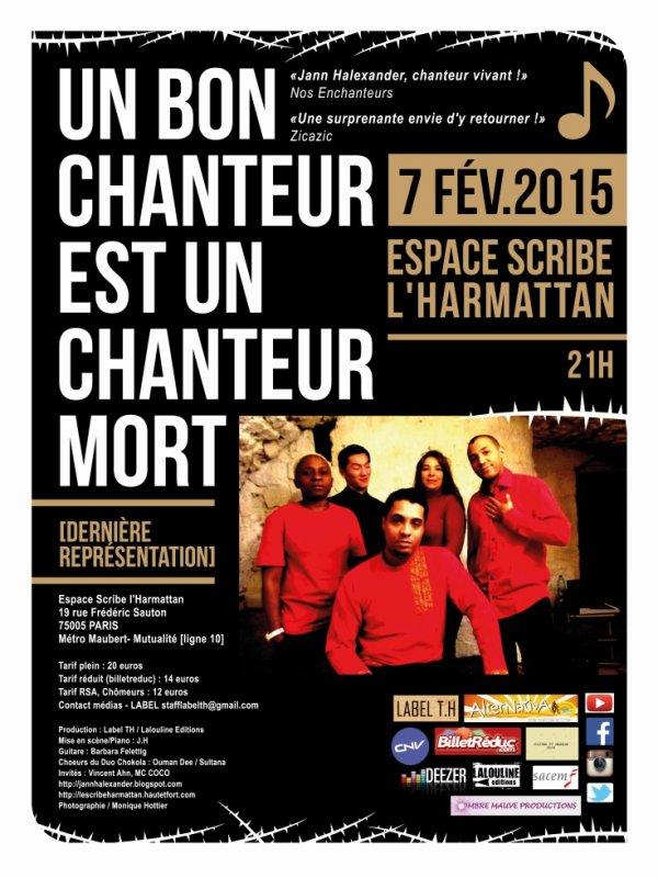 CONCERT 7 FEVRIER 2015 - PARIS