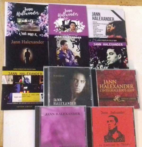 Merci à Sonia pour sa collection du chanteur Jann Halexander